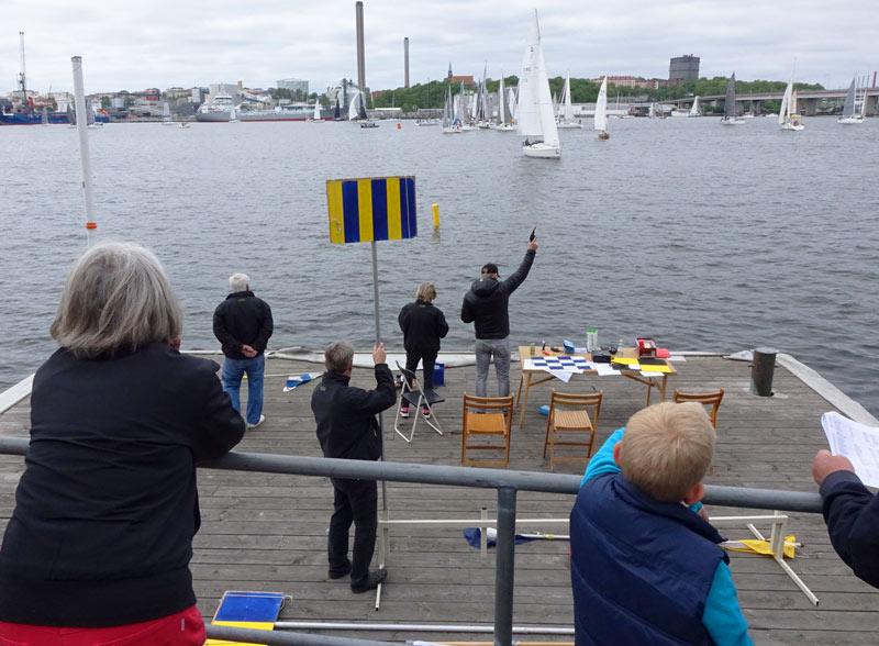 Svag svensk start men lidingoseglare en vinnare